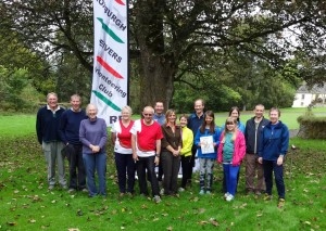 Opening of the Traquair Permanent Orienteering Course